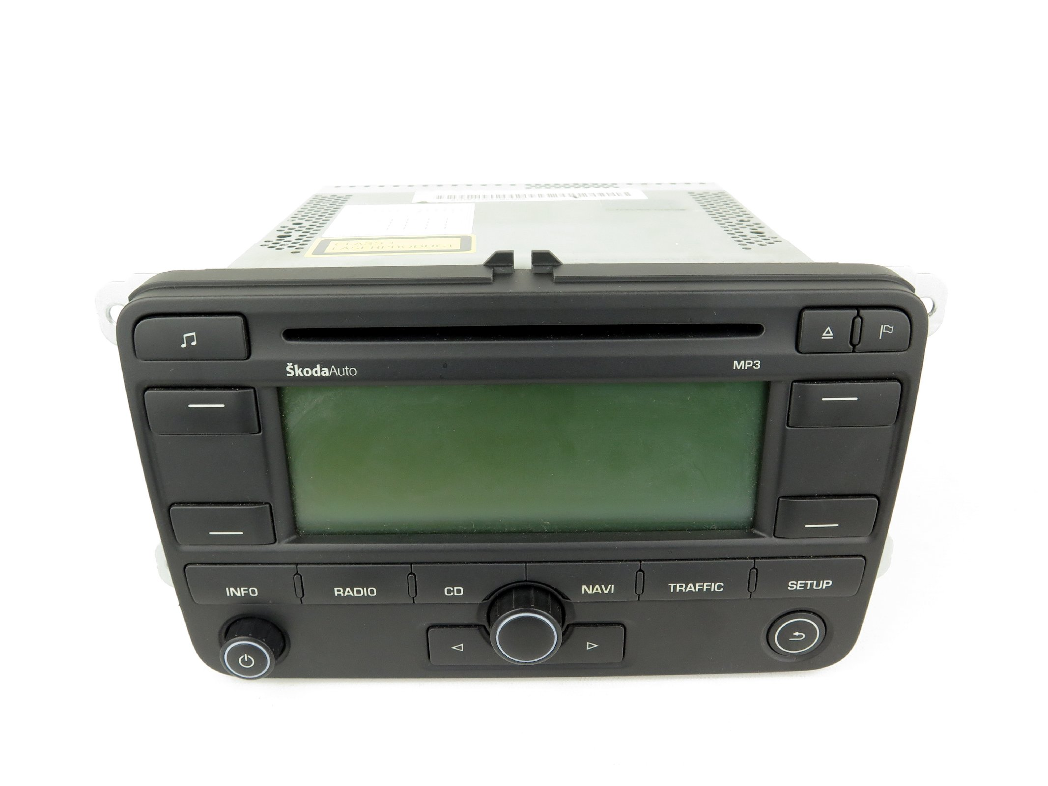 original skoda octavia 2 ii 1z cd radio navigationssystem. Black Bedroom Furniture Sets. Home Design Ideas