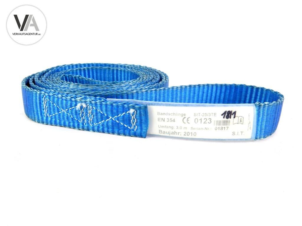 Kletterausrüstung Erklärung : Set posten 70 stück bandschlinge s.i.t. sit 25 3te 3 0m blau
