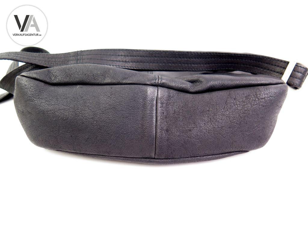 Handtasche Heathrow Picard 8841 30cm Saddlebag Zu Leder Schwarz Details Umhängetasche PTXq7E
